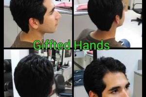 Photo #6: All Color Cut Style at Your Home. Giffted Hands