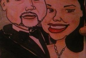 Photo #4: Wedding and live event artist for hire!