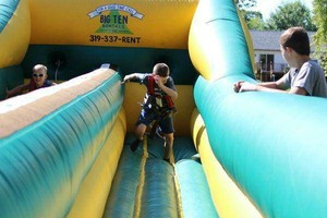 Photo #2: Bounce House/Spider Man Sticky Wall Rentals $75.00 Special!