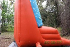Photo #1: Bounce House/Spider Man Sticky Wall Rentals $75.00 Special!