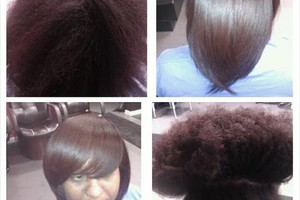 Photo #1: Silky Straight Hair w/ No Chemicals