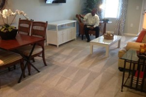 Photo #4: 100% SATISFACTION GUARANTEE ALWAYS -  D & E carpet, Rug & upholstery cleaning