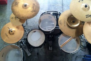 Photo #1: Drum Lessons for whatever you want to pay me an Hour