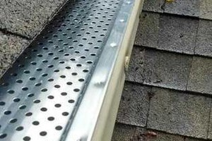 Photo #1: LEAF REMOVEL, GUTTER CLEANING and REPAIR...