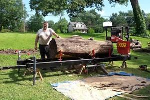 Photo #1: Tree Down? / Rough Lumber Milling