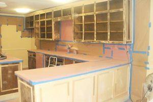 Photo #21: Ugly Cabinets? Cabinet Refinishing :)