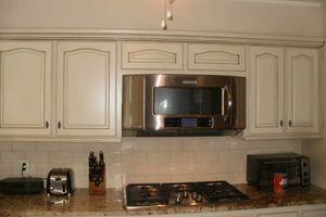 Photo #9: Ugly Cabinets? Cabinet Refinishing :)