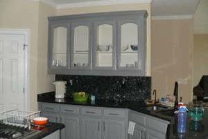Photo #3: Ugly Cabinets? Cabinet Refinishing :)