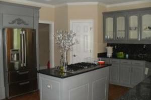 Photo #2: Ugly Cabinets? Cabinet Refinishing :)