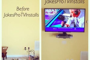 Photo #2: TV MOUNTING/ INSTALLATION | REAL REVIEWS | 5 STAR SERVICE | SAME DAY...