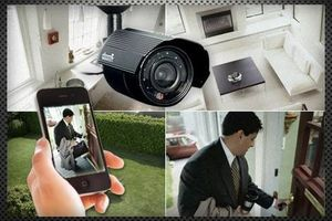 Photo #3: Check in on your home, or children, Anytime, from Anywhere! Fully installed security surveillance systems