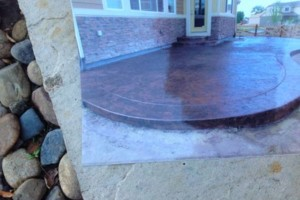 Photo #1: J&A LANDSCAPING, PAVESTONE AND CONCRETE
