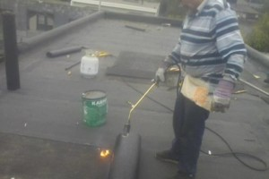 Photo #7: FLAT ROOF LEAK REPAIR - GRAVEL - TPO - EPDM-PVC-MODIFIED BITUMEN