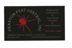 Photo #1: Phantom Pest Control Inc.
