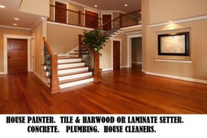 Photo #1: House Painting and flooring + cleaning. FREE ESTIMATES!