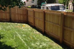 Photo #1: PREMIUM CEDAR FENCES! PRICES STARTING AT JUST $12/FT! CALL NOW!!!