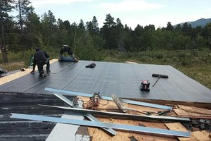 Photo #5: STEEP ROOFS & Roofing. FlatRoof CERTIFICATIONS