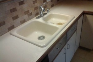 Photo #15: Guests arriving ?... Is your COUNTER TOP dingy?! Call Bathtub Rescue!
