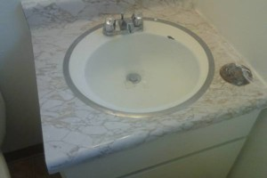 Photo #11: Guests arriving ?... Is your COUNTER TOP dingy?! Call Bathtub Rescue!