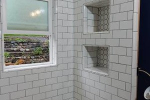 Photo #8: Beautify your kitchen or bath with tile....