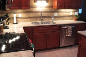 Photo #7: Beautify your kitchen or bath with tile....