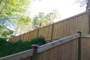 Photo #4: ATF Construction LLC. Fence installation services