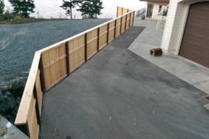 Photo #3: ATF Construction LLC. Fence installation services