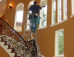 Photo #1: B & R COMPANY. WINDOW, ROOF, GUTTER CLEANING