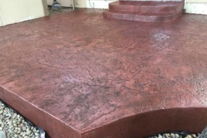 Photo #7: Affordable Concrete. Stamping and coloring techniques