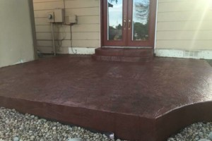 Photo #6: Affordable Concrete. Stamping and coloring techniques