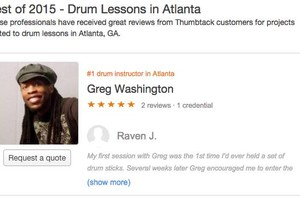 Photo #5: Start Your 2016 With Drum Lessons - Top Rated