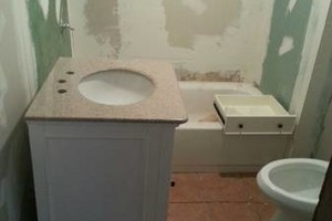 Photo #14: Kitchen & Bathroom Repair, Snow Removal, Pressure washing, Tile Setter...