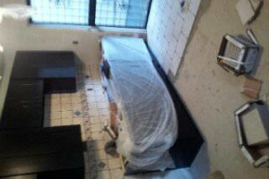 Photo #3: Kitchen & Bathroom Repair, Snow Removal, Pressure washing, Tile Setter...