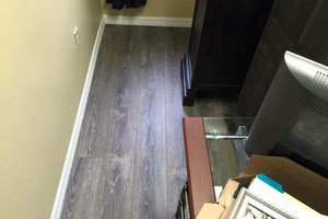 Photo #21: LAMINATE & WOOD FLOOR INSTILLATION .99 PER SQ FT. SPECIAL!!!