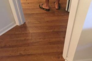 Photo #15: LAMINATE & WOOD FLOOR INSTILLATION .99 PER SQ FT. SPECIAL!!!