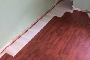 Photo #3: LAMINATE & WOOD FLOOR INSTILLATION .99 PER SQ FT. SPECIAL!!!