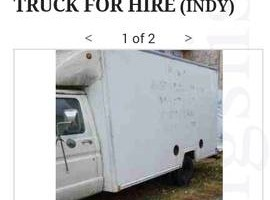 Photo #2: 14ft BOX TRUCK FOR HIRE