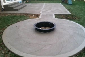 Photo #2: MEN OF MUD CONCRETE - Patios, Sidewalks, Driveways, Steps and Repairs