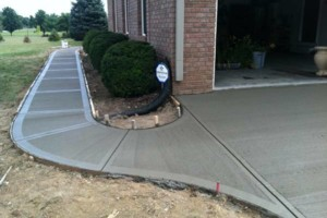 Photo #3: MEN OF MUD CONCRETE - Patios, Sidewalks, Driveways, Steps and Repairs