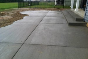 Photo #4: MEN OF MUD CONCRETE - Patios, Sidewalks, Driveways, Steps and Repairs