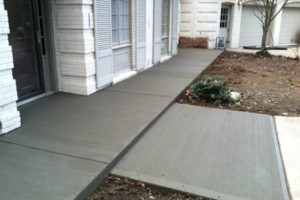 Photo #5: MEN OF MUD CONCRETE - Patios, Sidewalks, Driveways, Steps and Repairs