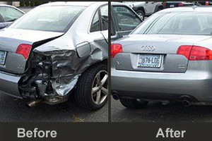 Photo #1: PAINT & BODY SHOP / AUTO GLASS / POWER WINDOW REPAIR / GOOD PRICES!