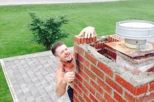 Photo #3: Masonry repairs!