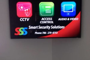 Photo #1: lcd tv, plasma tv, led tv wall mounting installation