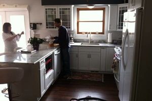 Photo #3: CABINET INSTALL. KITCHEN/BATH CABINETS AND COUNTER TOPS!