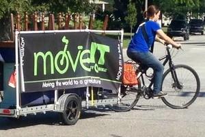 Photo #23: MOVE IT by bike LLC, $30.00/Hr!