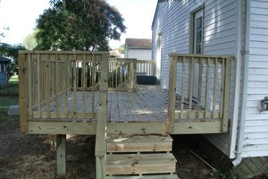 Photo #2: PORCH and DECK building and repairs 12x12 deck $2000 w/permit