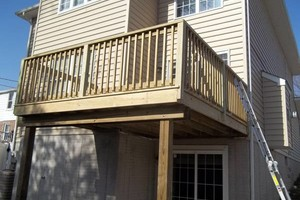 Photo #4: PORCH and DECK building and repairs 12x12 deck $2000 w/permit
