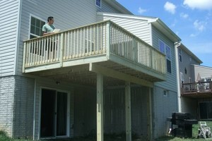 Photo #9: PORCH and DECK building and repairs 12x12 deck $2000 w/permit