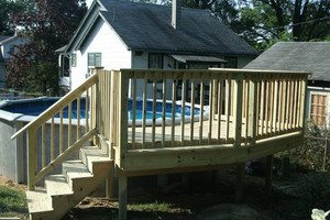 Photo #14: PORCH and DECK building and repairs 12x12 deck $2000 w/permit